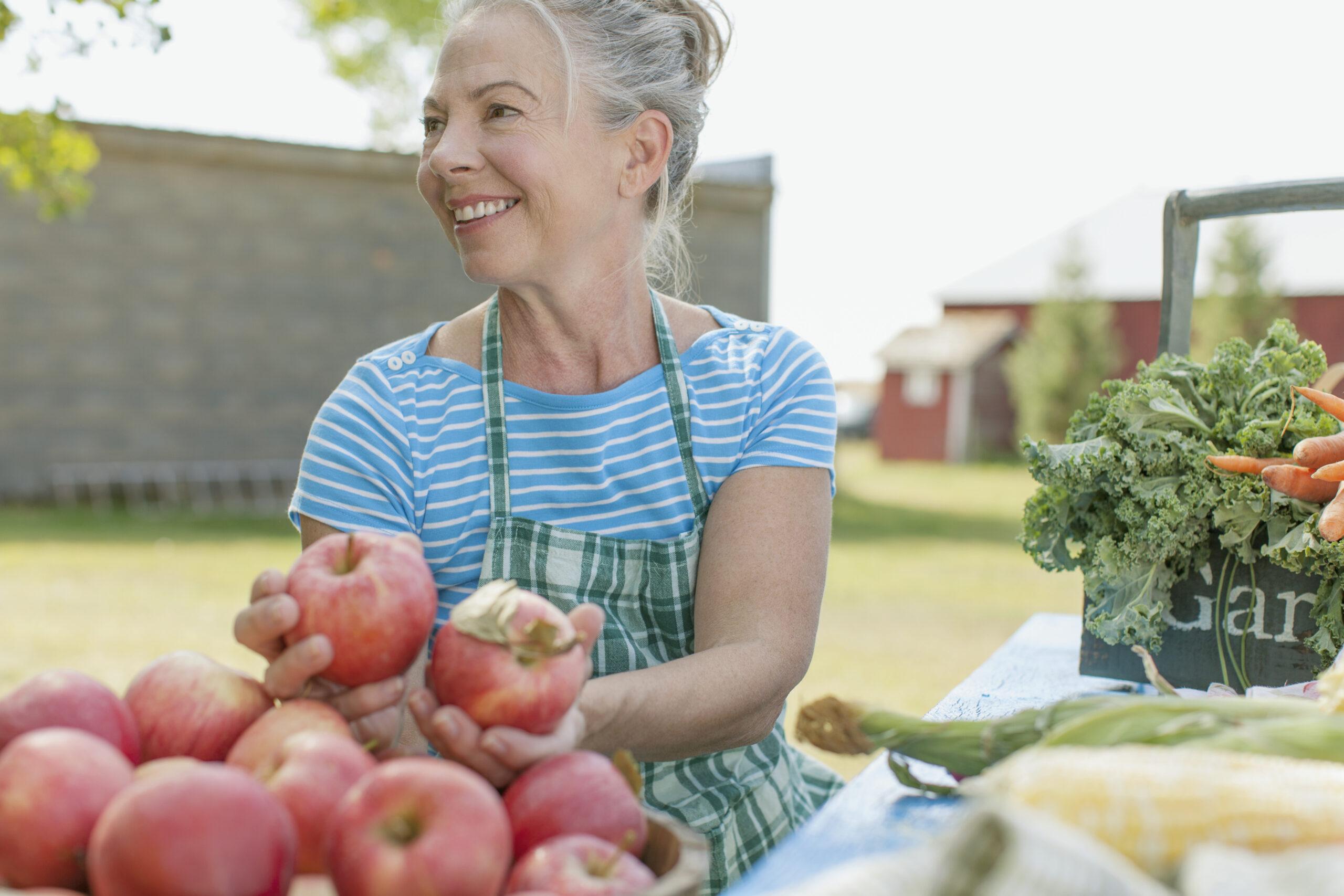 biologisch fruit direct van het land vrouw | BOERgondisch Rotterdam